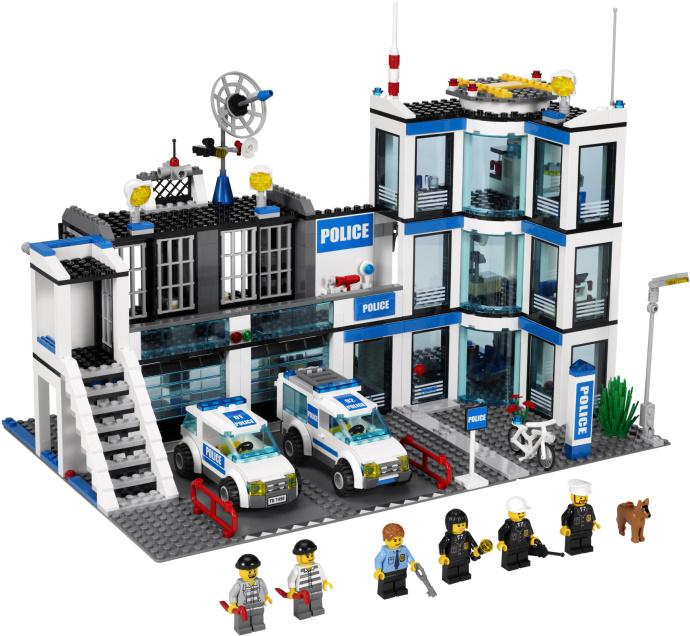 Лего сити lego city лего 7498 city полицейский