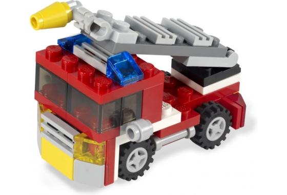 Лего 6911 creator пожарная машинка артикул