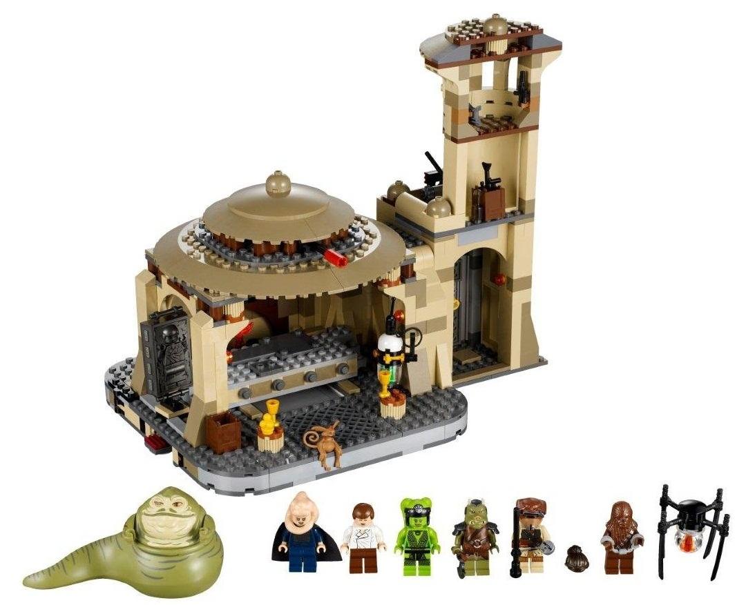 Lego 9516 star wars лего звездные войны дворец
