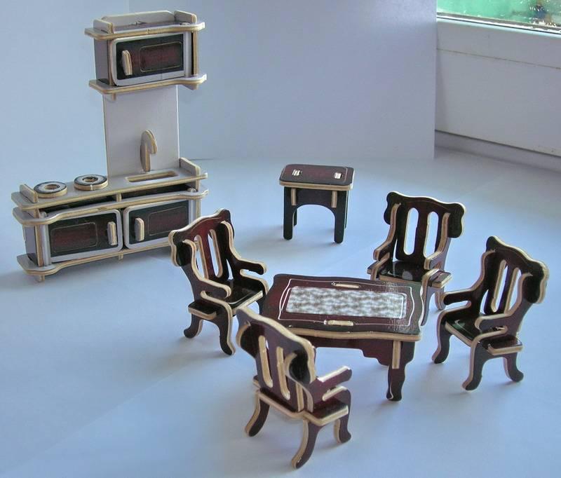 Кукольная мебель гарнитур