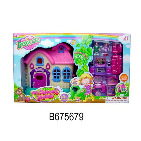 Домик для кукол Мой сладкий дом