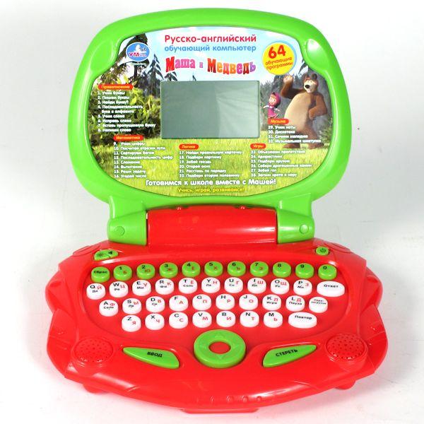 Детский обучающий ноутбук Умка Маша и Медведь