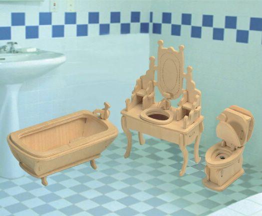 Кукольная мебель детская ванная