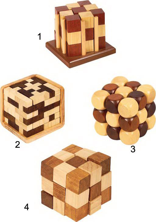 Деревянная головоломка 8445