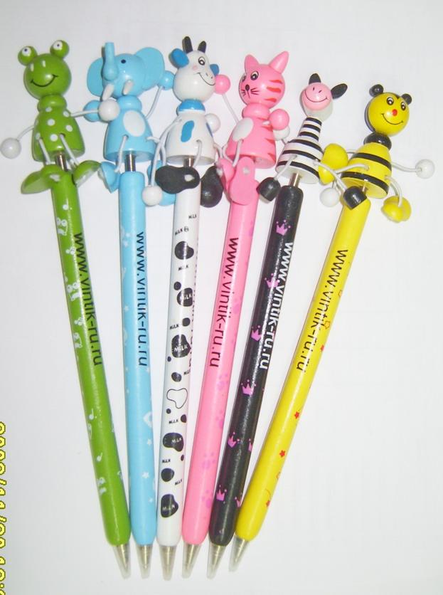 Ручка - Животные на палочке