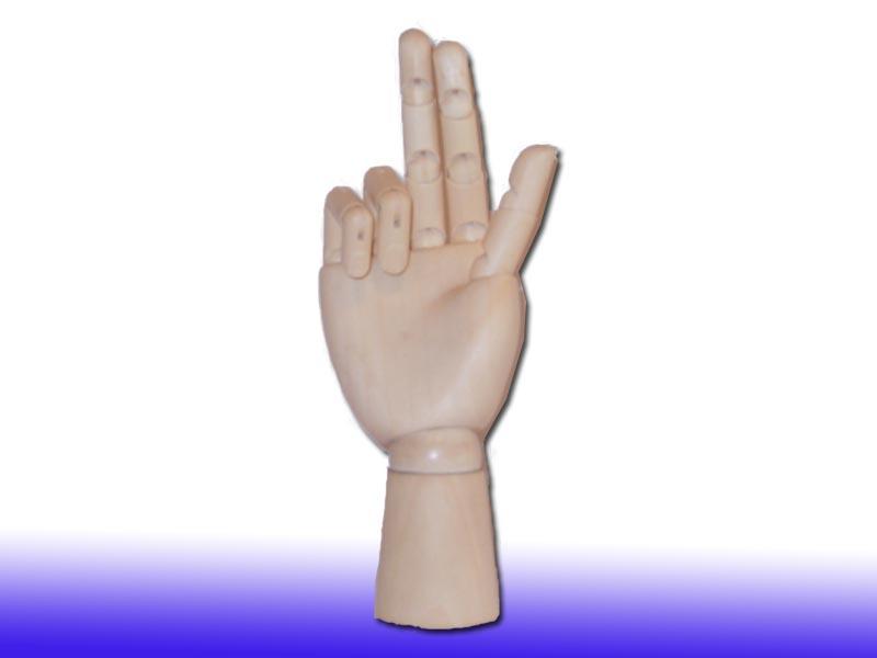 Рука деревянная (женская) 1106