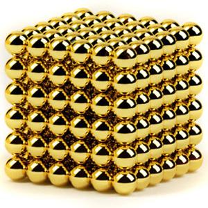 Неокуб Золотой шик 5мм 216 шариков