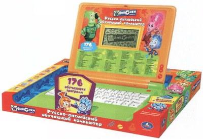 Детский обучающий компьютер Умка PL1596 Фиксики