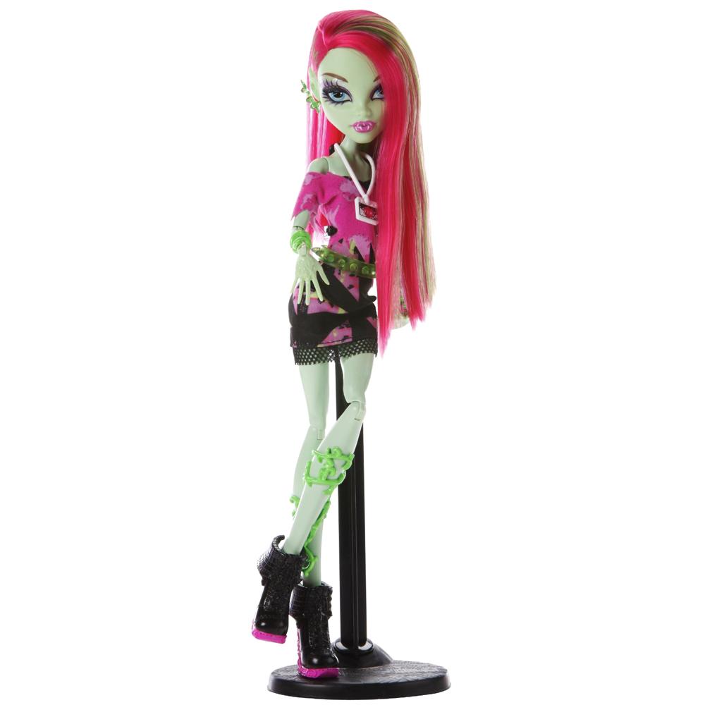 Кукла монстер хай венера макфлайтрап базовая купить дёшево