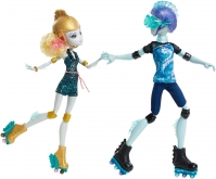 Набор кукол Monster High Гил и Лагуна (На Роликах), Монстр Хай