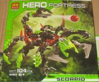 Конструктор Hero Fortress Scorpio 9933
