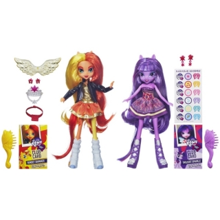 My Little Pony. Куклы Equestria Girls- Sunset Shimmer & Twilight Sparkle