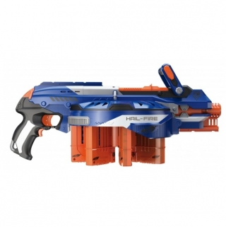 Бластер Nerf Elite Hail-Fire